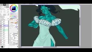 Paint tool SAI-Halloween 2015/ ghost bride