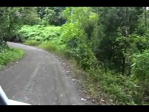 Treacherous Road from Drake Bay, Costa Rica