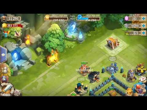 Castle Clash Accounts 4 Sale Or Trade