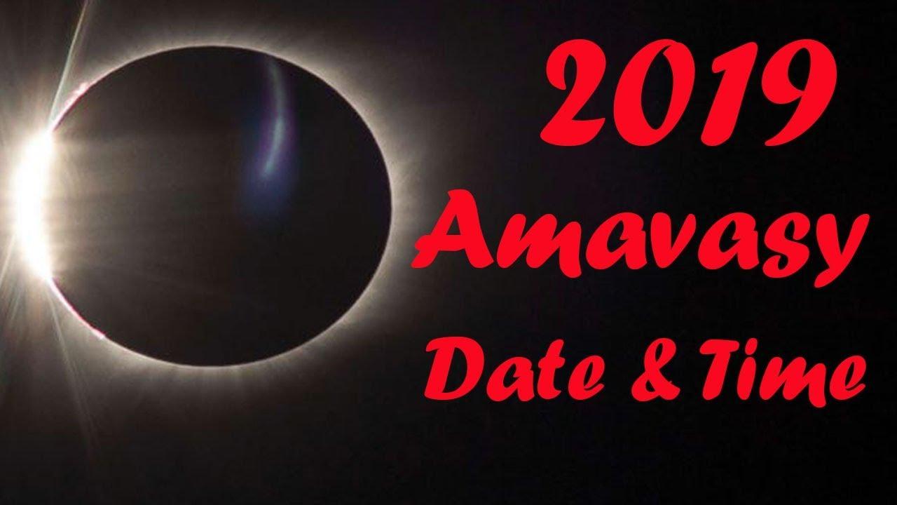 amavasya october 2019