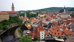 Cesky Krumlov / Krummau bzw. Krumau im Böhmerwald Tschechien Jihočeský kraj