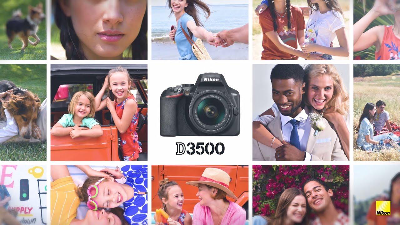 Nikon D3500 Product Tour Video
