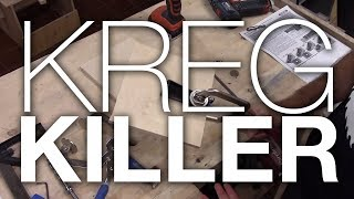 Kreg Killer: Milescraft Pocketjig100 vs Kreg Mini