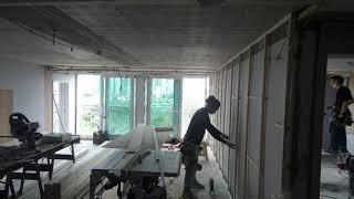 #아파트 #가베 #벽 #다루끼상 #외벽단열 #거실확장 …