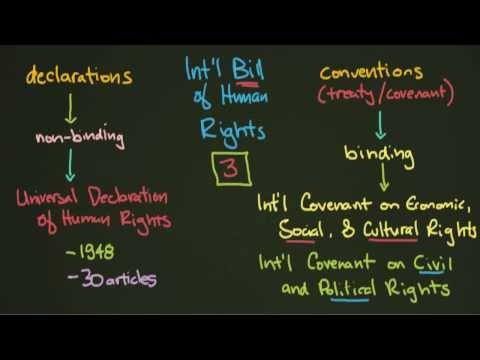 Human Rights Institutions and Documents