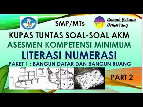 Soal Akm Smp Literasi Numerasi Matematika 2021 Youtube