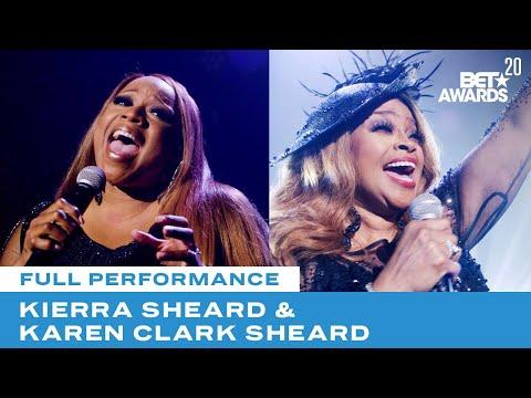 "Kierra & Karen Clark Sheard Close Show With Performance of ""Something Has To Break"" | BET Award 20"