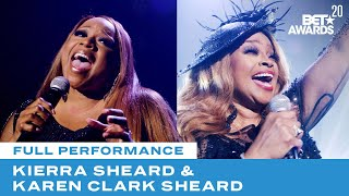 "Kierra & Karen Clark Sheard Close Show With Performance of ""Something Has To Break"" 