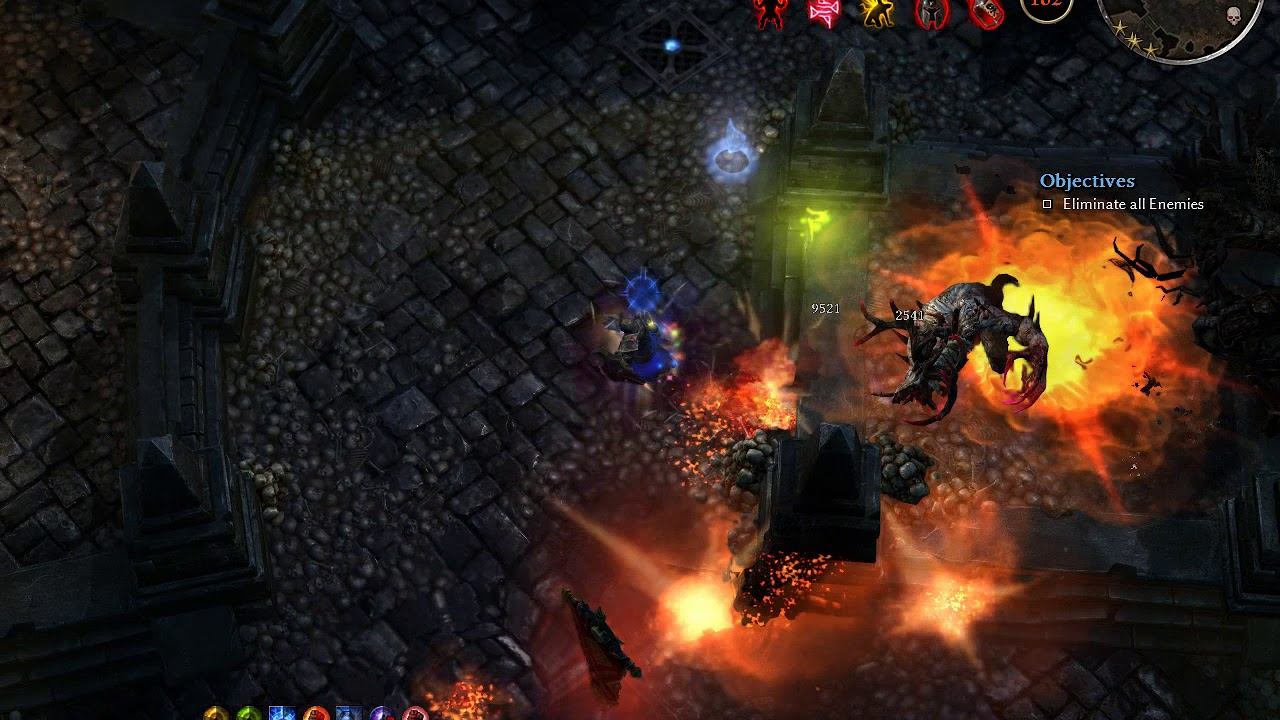 Grim Dawn - Octavius Kalastor Tactician - Crucible 7 min
