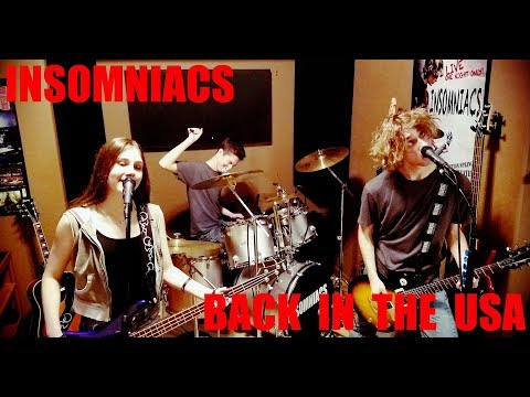 Green Day - Back In The USA (Full Band Cover by INSOMNIACS)