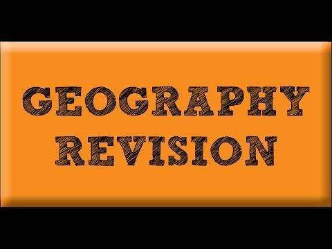 Geography Revision (2nd Exam) – Choosing Question 7: Challenges of the Urban World