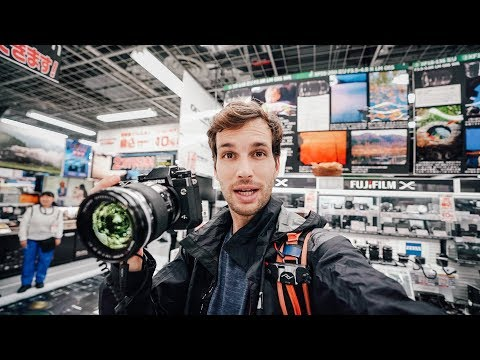 CAMERA SHOPPING IN TOKYO - Tested All The Lenses And