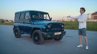 UAZ Which Is Faster Than a G63. The Legend is back.