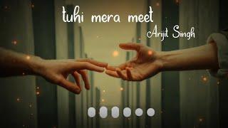 Tu Hi Mera Meet Hai Ji by Arijit Singh WhatsApp status | Love WhatsApp status | Abhay Editor