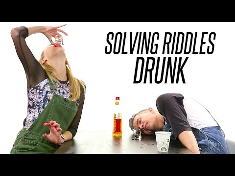 Co-Workers Drunkenly Solve Riddles