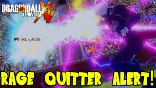 Dragon Ball Xenoverse Ranked Warrior: The Rage Quitter of Pulled Cord Attack!