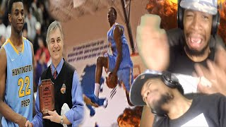 CRAZY DISAPPEARING DUNK!! ANDREW WIGGINS SENIOR HOOPMIXTAPE REACTION!!