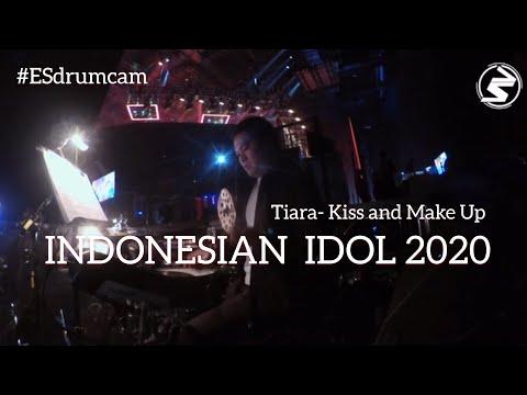 Echa Soemantri - Kiss And Make Up - Tiara | Indonesian Idol 2020 #ESdrumcam