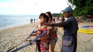 MuiMui on parasailing @ batu feringgi, penang 010509