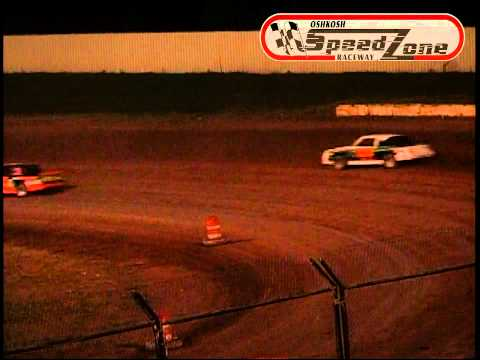 Oshkosh Speedzone Raceway - July 23, 2013 - Street Stock Feature