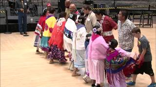 Living Earth Festival: Southern Ute Bear Dancers 1