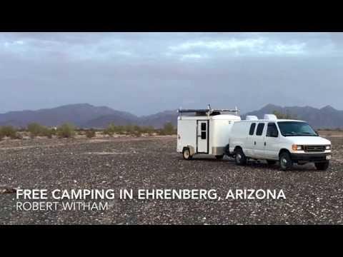 Free BLM Dispersed Camping in Ehrenberg, Arizona - Video Tour
