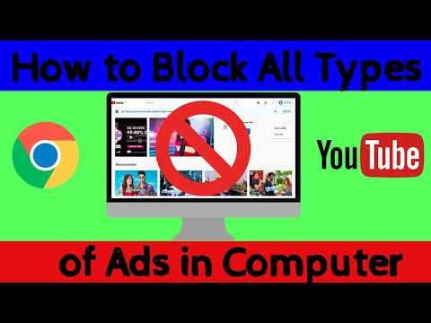 How to Block all Ads on Youtube | Chrome PC