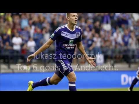 Lukasz Teodorczyk - top 6 goals by Anderlecht