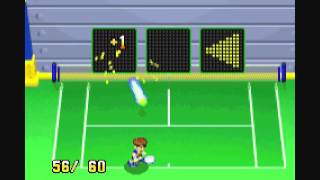 Mario Power Tennis Wii U Virtual Console trailer (Europe)