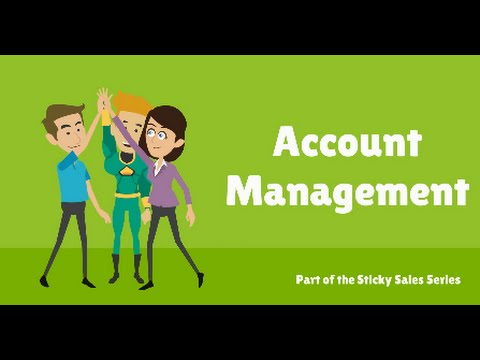 Free Sales Training Video: Account Management