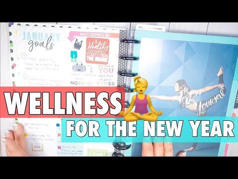 HAPPY PLANNER GIRL HEALTHY HERO | FITNESS PLANNER SET UP | WELLNESS PLANNING