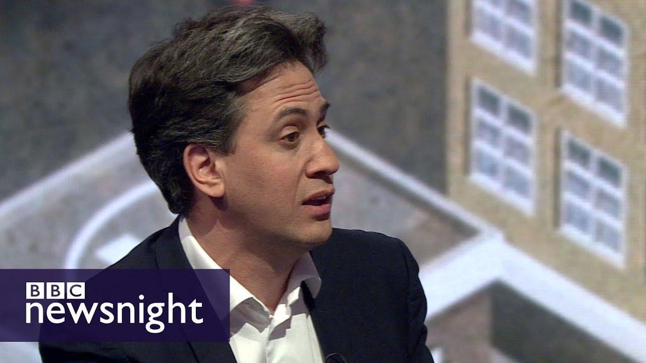 Ed Miliband on universal basic income - BBC Newsnight