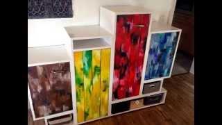 Möbel Sideboard MDF Palettenholz Do It Yourself Selber Bauen