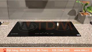 TDM.VN | Review bếp hồng ngoại Malloca MH-02R bếp điện đôi mặt kính Eurokera âm bàn