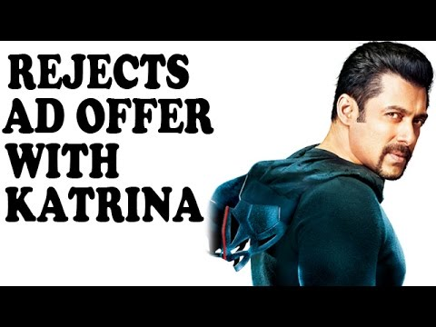 SHOCKING: Salman Khan Rejects An Advertisement Offer With Ex-Katrina Kaif | Bollywood News