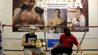 Training Tips From Former 3x World Champion Boxer Jose Rivera