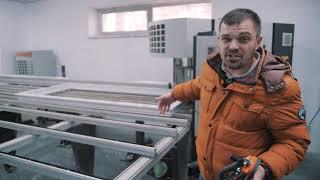 Как делают пластиковые окна , Видео обзор производства пластиковых окон Veka