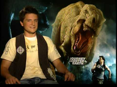 Josh Hutcherson on Journey to the Center of the Earth 3D ...