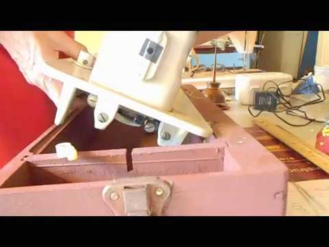 Changing Machine Heads in Singer Treadle