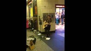 "Nicola at Penn Station NYC: ""Crazy"""