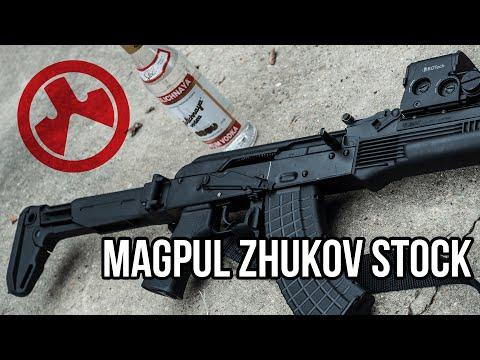 Magpul Zhukov AK-47 Stock Review (with Saiga SGL-21)