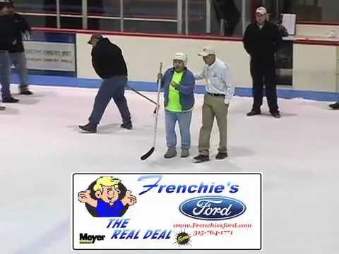 59 YRS OLD, Hole In One Wins Truck (Frenchie's Ford) Akwesasne Warriors Pro hockey