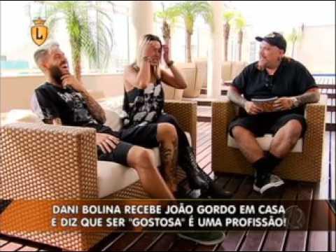 Dani Bolina e Mateus Verdelho recebem João Gordo em sua casa  #arquivolegendários