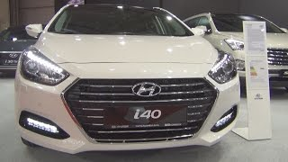 Hyundai i40 FL 1.7 CRDi 141 hp 7DCT Premier GT 2016 Exterior and Interior in 3D