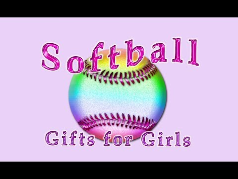Personalized Softball Gifts For Girls