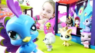 Распаковка Littlest Pet Shop -