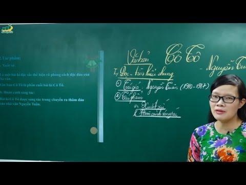 Ngữ Văn Lớp 6 –Cô Tô Nguyễn Tuân ngữ văn lớp 6|Phân tích tác phẩm soạn bài|Truyện và kí|Cô Lê Hạnh