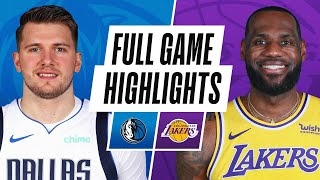 Game Recap: Los Angeles Lakers 138, Dallas Mavericks 115