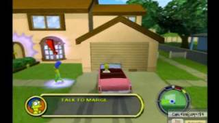 "Los Simpsons Hit & Run PS2 ""Nivel 1, Mundo De Homero Parte 1"" - HQ"