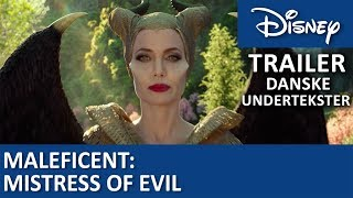 Maleficent: Mistress of Evil | Trailer - Danske undertekster | Disney Danmark